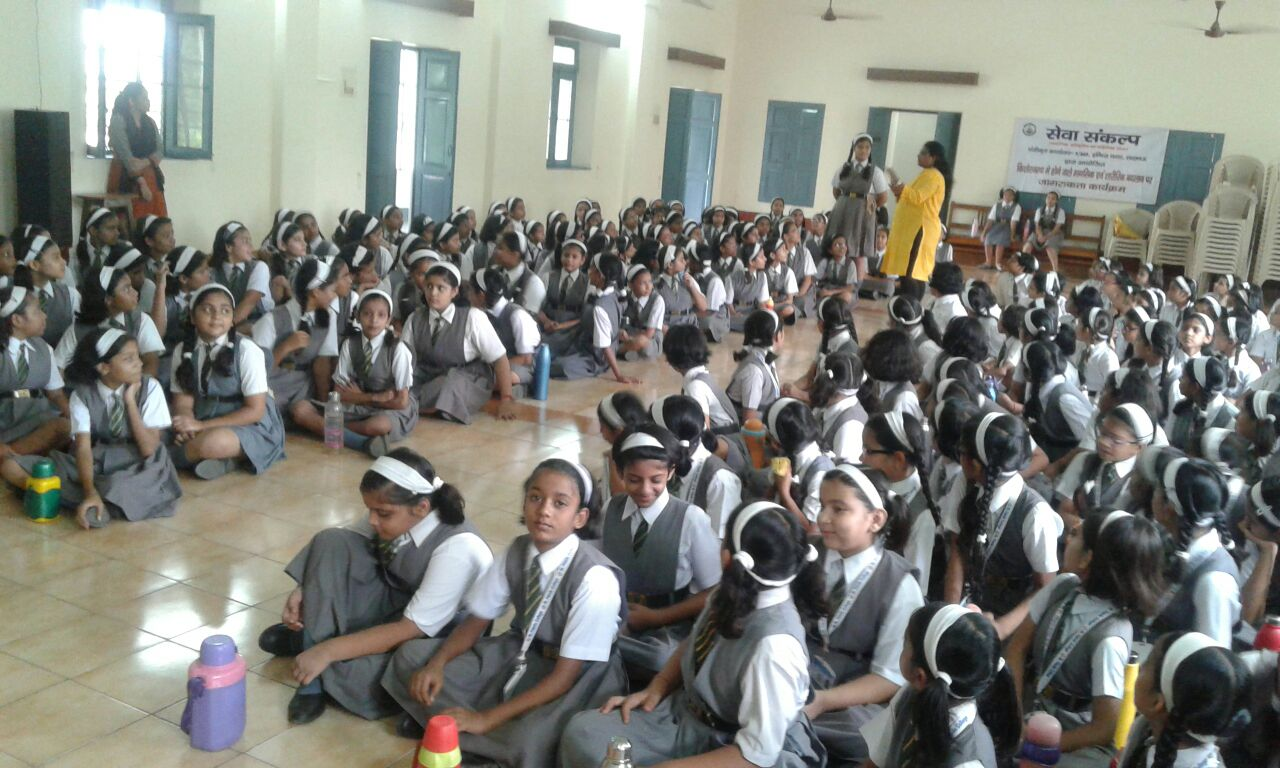 Awareness and counseling session for girls related to eve teasing