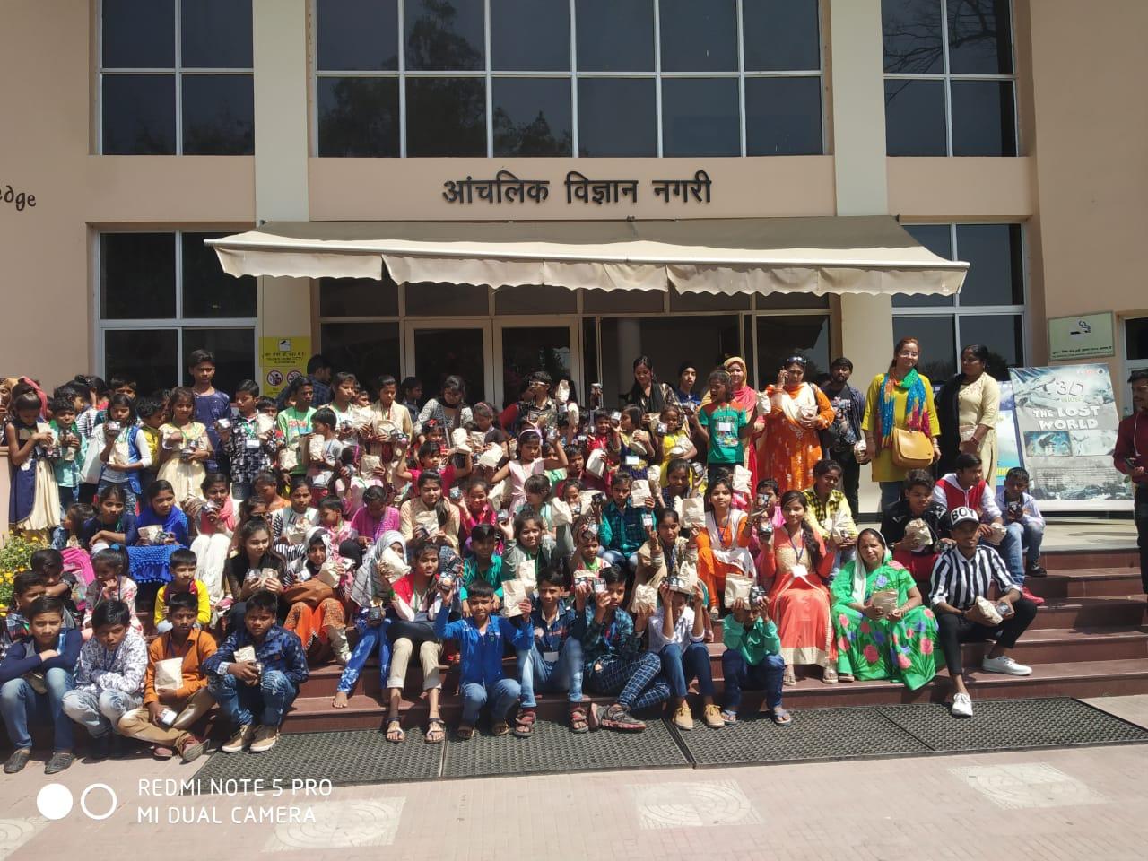 Educational Tour for Slum kids