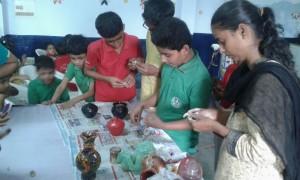 Vocational training program related to ceramic work-1