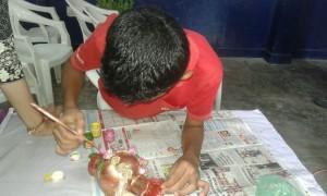 Vocational training program related to ceramic work-2